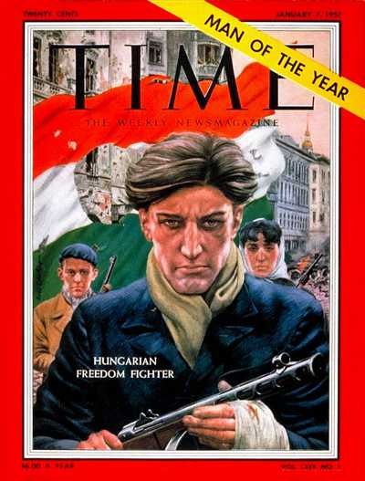 TIME Magazine Mural Of Budapest (1956) | Budapest Private Tour Guide