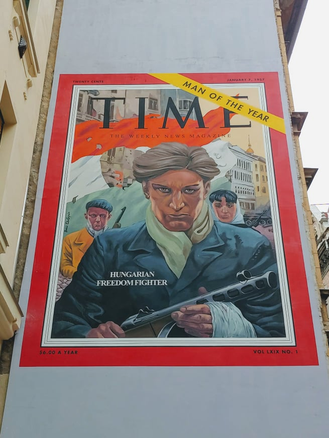 TIME Magazine mural about 1956