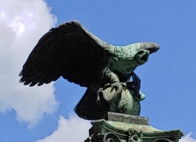 The legend of the Hungarian Turul Bird
