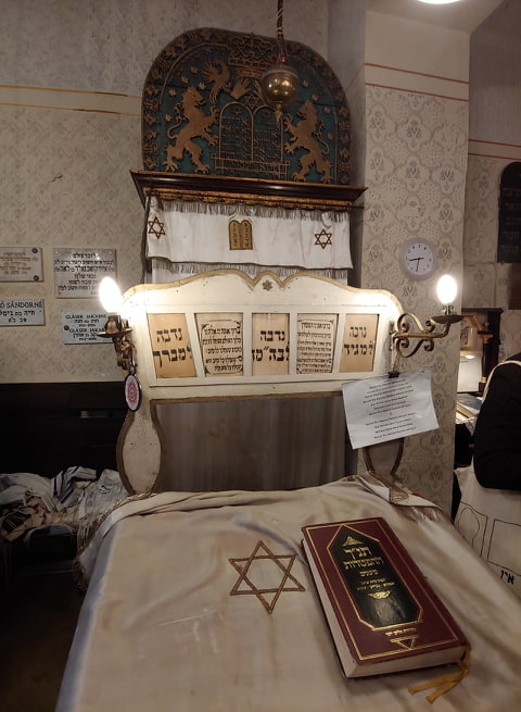 The Synagogue in Budapest, which was visited by Oprah Winfrey